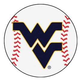 West Virginia University Baseball Mat Ball Mats