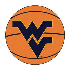 West Virginia University Basketball Mat Ball Mats