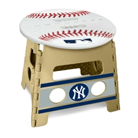 "MLB - New York Yankees Folding Step Stool  14""x13"""