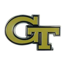 Georgia Tech Color Emblem  Auto Emblem