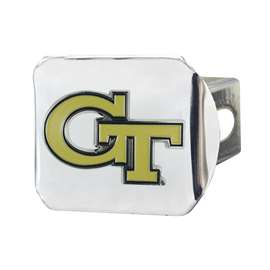 Georgia Tech Color Hitch - Chrome Hitch Covers