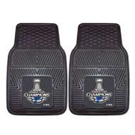 St. Louis Blues 2019 NHL Stanley Cup Champions 2-pc Vinyl Car Mat Set