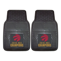 NBA - Toronto Raptors 2019 NBA Finals Champions 2-pc Vinyl Car Mat Set