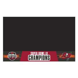 "Tampa Bay Buccaneers Super Bowl LV 55 Champions Grill Mat 26""x42"""