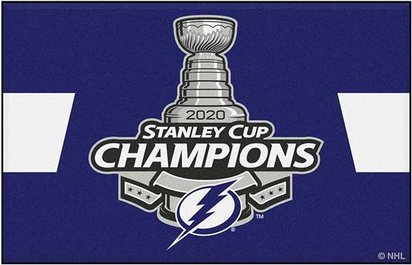 Tampa Bay Lightning 2020 Stanley Cup Champions Starter Mat