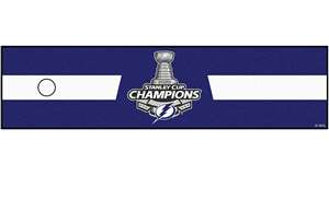 Tampa Bay Lightning 2020 Stanley Cup Champions Putting Green Mat