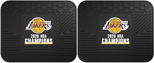Los Angeles Lakers 2020 NBA Finals Champions 2 Utility Mats
