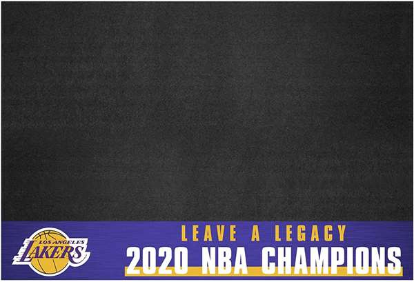 Los Angeles Lakers 2020 NBA Finals Champions Grill Mat