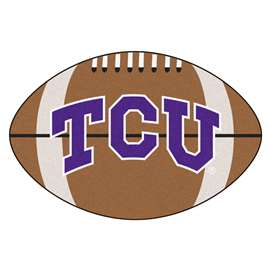 Texas Christian University Football Mat Ball Mats