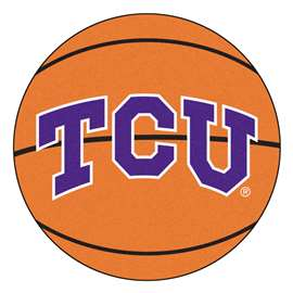 Texas Christian University Basketball Mat Ball Mats