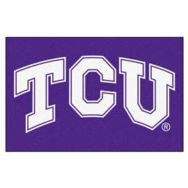 Texas Christian University Starter Mat Rectangular Mats