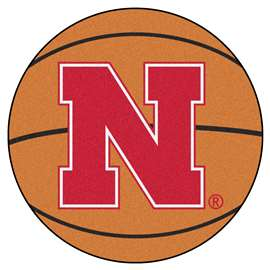 University of Nebraska  Basketball Mat Rug Carpet Mats