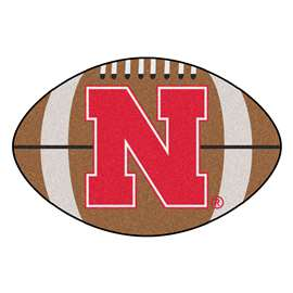 University of Nebraska  Football Mat Mat Rug Carpet
