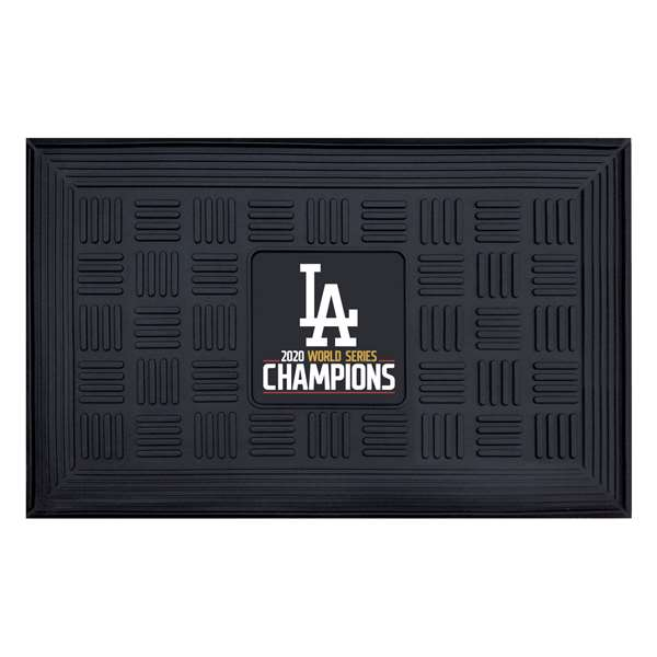 Los Angeles Lakers 2020 World Series Champions Medallion Door Mat