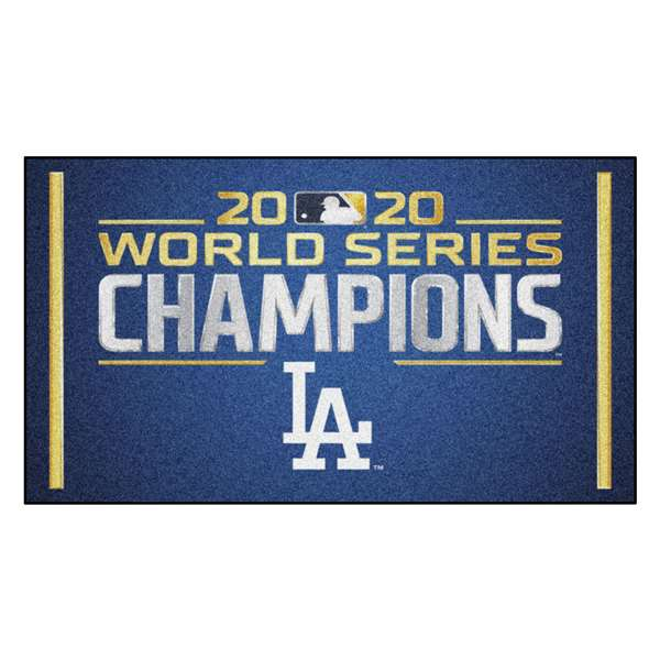 Los Angeles Dodgers 2020 World Series Champions 3x5 Rug