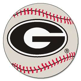 University of Georgia Baseball Mat Ball Mats