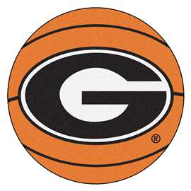 University of Georgia Basketball Mat Ball Mats