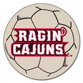 Louisiana-Lafayette  Soccer Ball Mat, Rug , Carpet