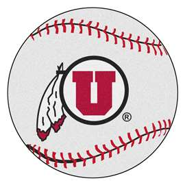University of Utah Baseball Mat Ball Mats