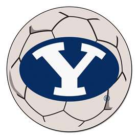 Brigham Young University  Soccer Ball Mat, Rug , Carpet