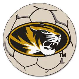 University of Missouri  Soccer Ball Mat, Rug , Carpet
