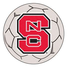 North Carolina State University Soccer Ball Ball Mats