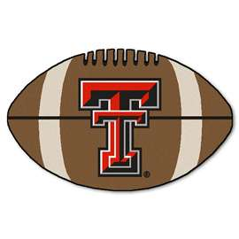 Texas Tech University Football Mat Ball Mats