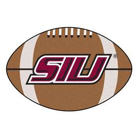 Southern Illinois University Football Mat Ball Mats