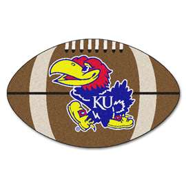 University of Kansas Football Mat Ball Mats