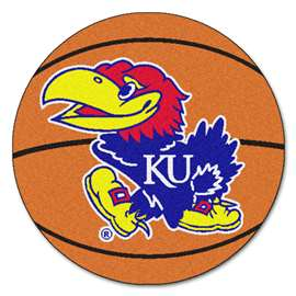 University of Kansas Basketball Mat Ball Mats
