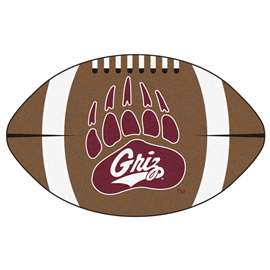 University of Montana Football Mat Ball Mats