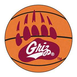 University of Montana Basketball Mat Ball Mats