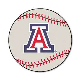 University of Arizona  Baseball Mat Rug Carpet Mats