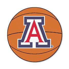 University of Arizona Basketball Mat Ball Mats