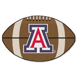 University of Arizona Football Mat Ball Mats