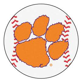 Clemson University Baseball Mat Ball Mats