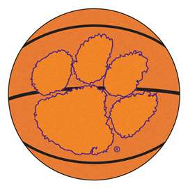 Clemson University Basketball Mat Ball Mats