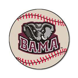 University of Alabama Baseball Mat Ball Mats