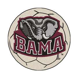 University of Alabama Soccer Ball Ball Mats