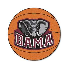 University of Alabama Basketball Mat Ball Mats