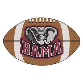 University of Alabama Football Mat Ball Mats