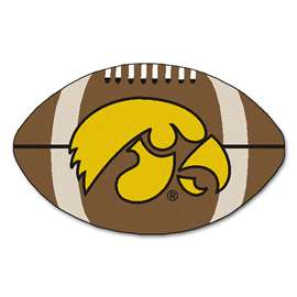 University of Iowa Football Mat Ball Mats