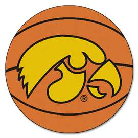 University of Iowa Basketball Mat Ball Mats