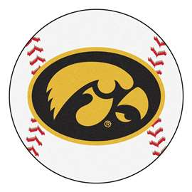 University of Iowa Baseball Mat Ball Mats