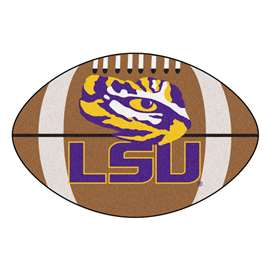Louisiana State University Football Mat Ball Mats
