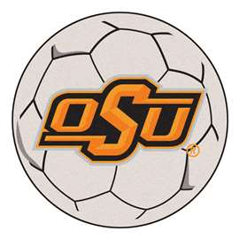 Oklahoma State University  Soccer Ball Mat, Rug , Carpet