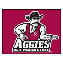 New Mexico State University  All Star Mat Rug Carpet Mats
