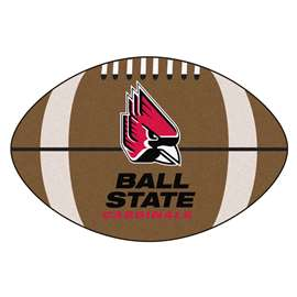 Ball State University Football Mat Ball Mats