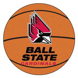 Ball State University Basketball Mat Ball Mats