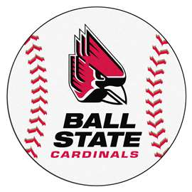 Ball State University Baseball Mat Ball Mats